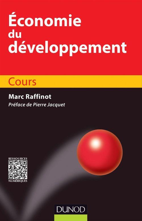 Marc Raffinot Economie du développement