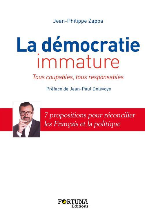 Jean-Philippe Zappa La démocratie immature