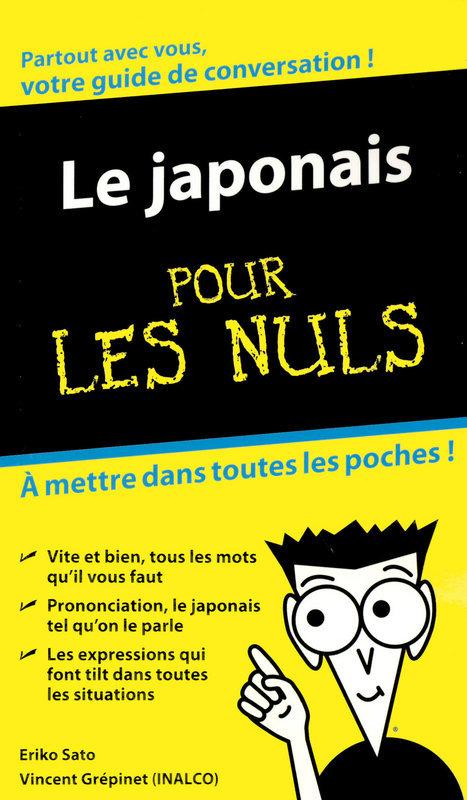 Eriko SATO Le Japonais - Guide de conversation Pour les Nuls