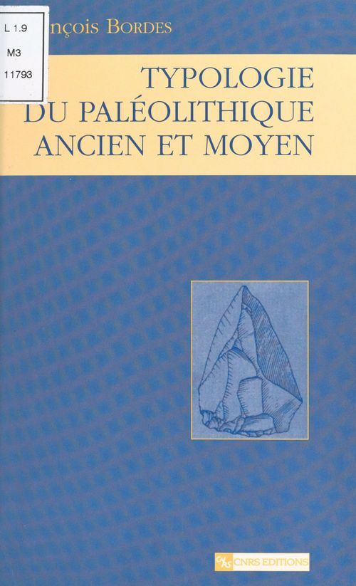 Typologie du paléolithique ancien et moyen