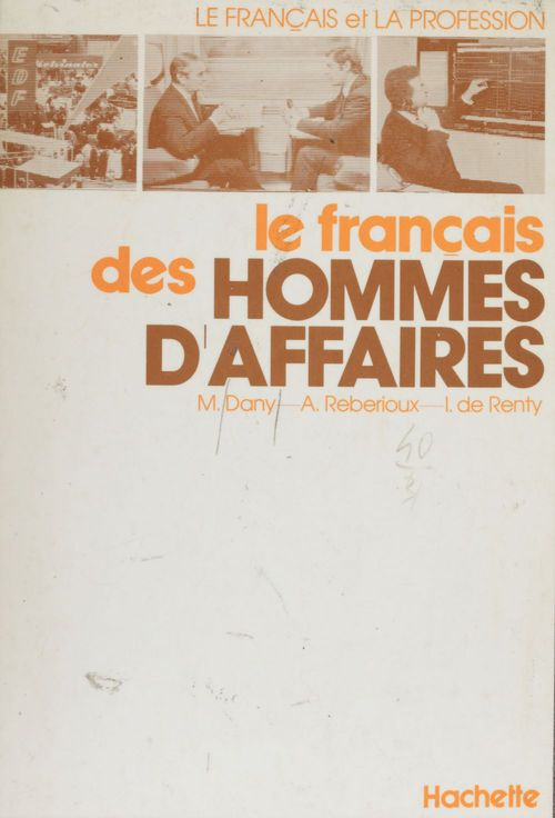 Le Français des hommes d'affaires