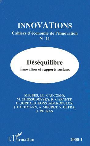 Collectif Déséquilibre ; innovation et rapports sociaux