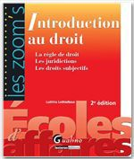Laetitia Lethielleux Introduction au droit (2e édition)