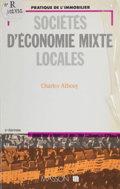 Sociétés d'économie mixte locales