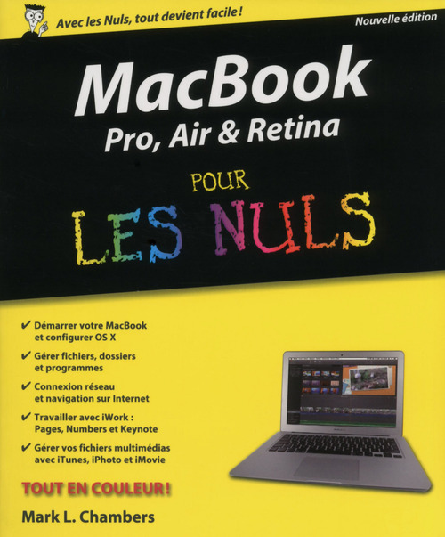 Mark L CHAMBERS MacBook Pro, Air, Retina Pour les Nuls
