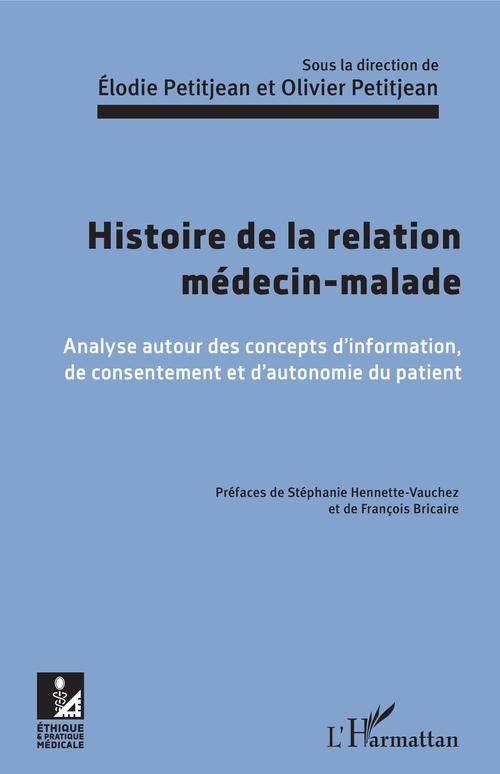 Élodie Petitjean Histoire de la relation médecin-malade