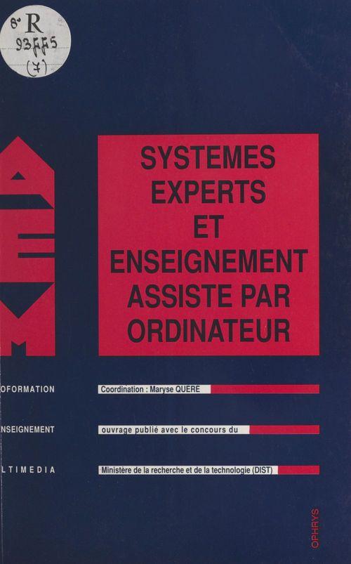 Systèmes experts et enseignement assisté par ordinateur