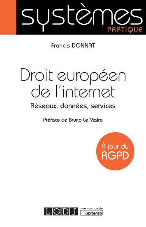 Francis Donnat Droit européen de l'internet