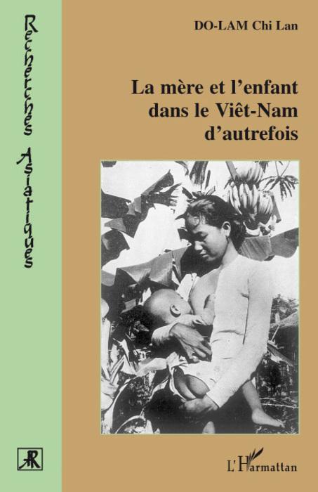 La mère et l'enfant dans le viêt-nam d'autrefois