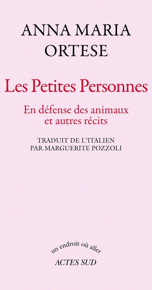 Anna-Maria Ortese Les petites personnes