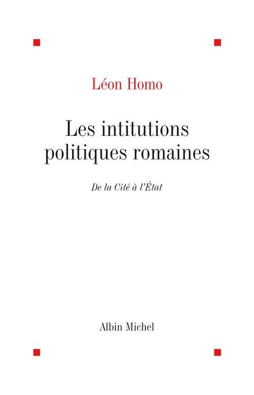 Les Institutions politiques romaines