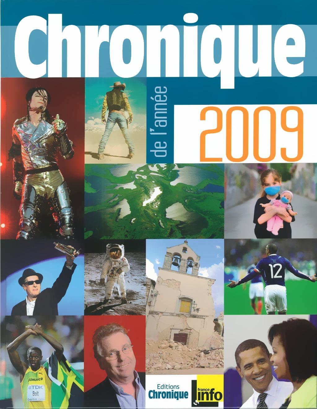 Michel Marmin Chronique de l'année 2009