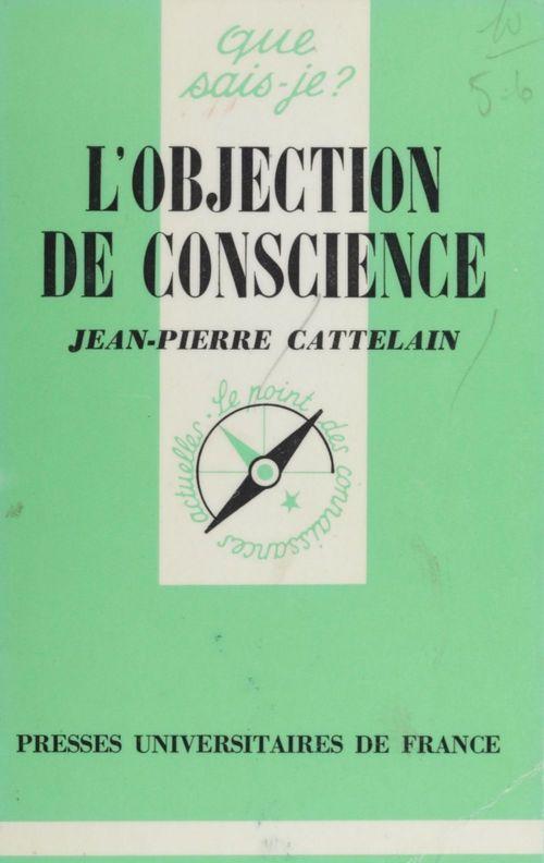 L'Objection de conscience