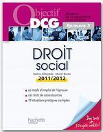Muriel Brosset-Bories Objectif DCG Droit social 2011/2012