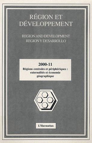 Régions centrales et périphériques externalités et économie géographique
