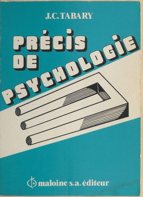 Jean-Claude Tabary Précis de psychologie