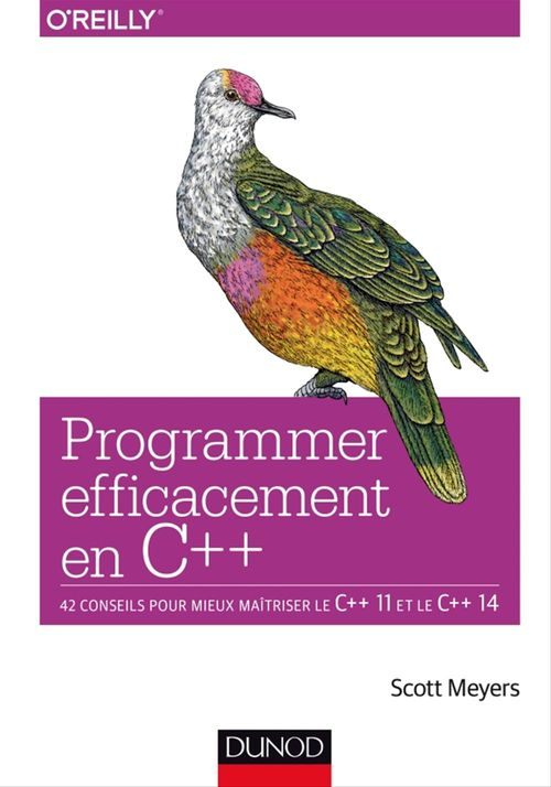 Scott Meyers Programmer efficacement en C++