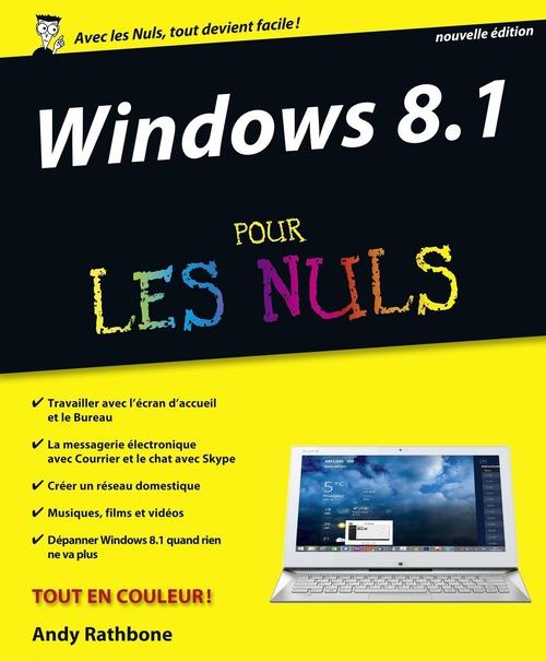 Andy RATHBONE Windows 8.1 Update 1 Pour les Nuls