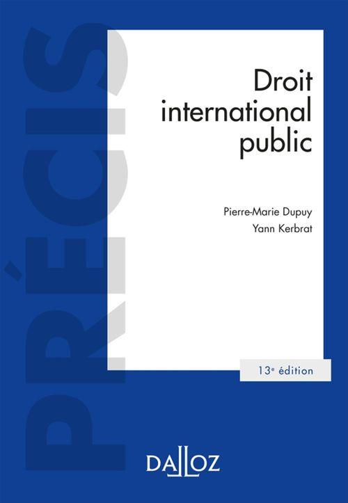Pierre-Marie Dupuy Droit international public