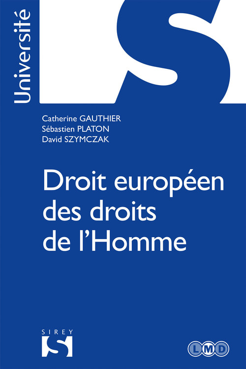 Catherine Gauthier Droit européen des droits de l'Homme