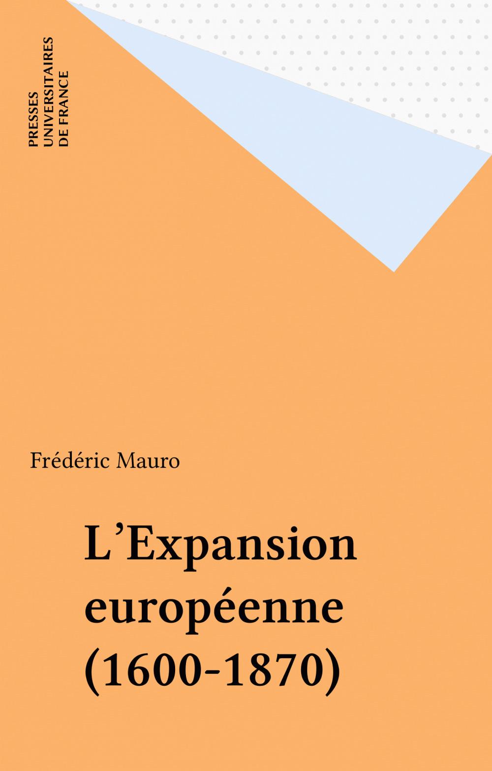 L'Expansion européenne (1600-1870)