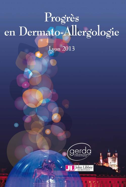 Jean-François Nicolas Progrès en dermato-allergologie 2013