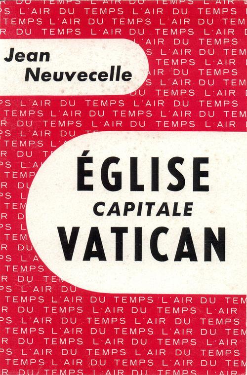 Jean Neuvecelle Église, capitale Vatican