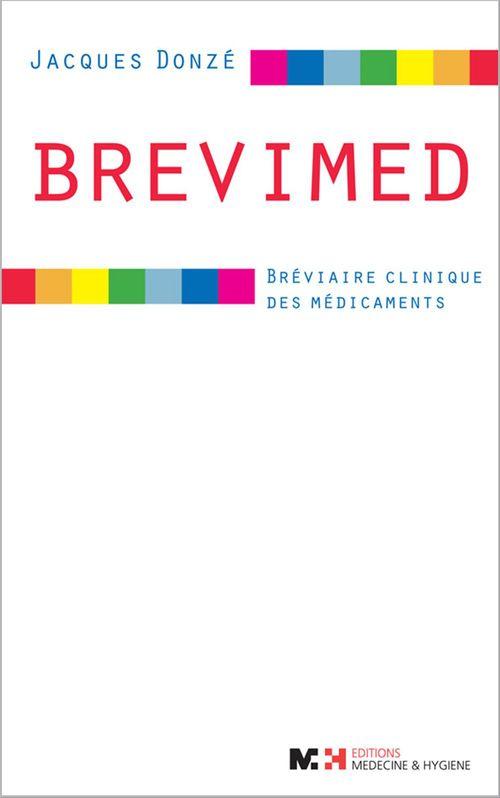 Brevimed ; bréviaire clinique des médicaments