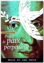 Projet de paix perp�tuelle