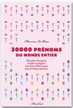 30.000 prénoms du monde entier