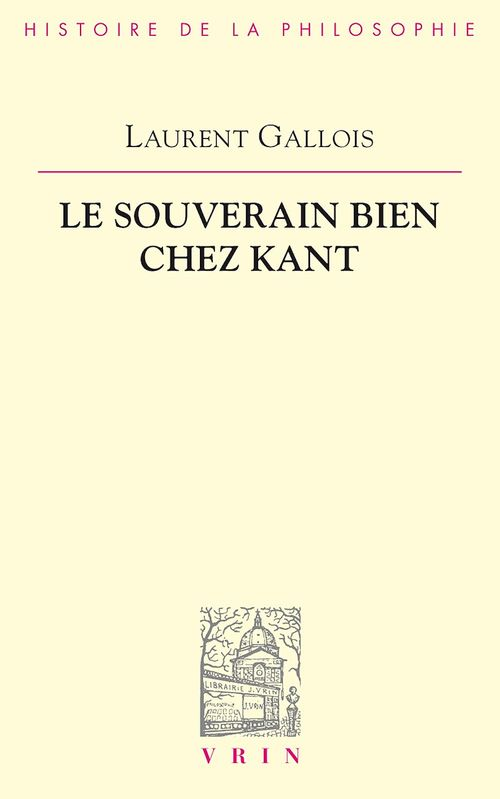 Le souverain bien chez Kant