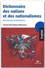 Sandrine Kott Initial - Dictionnaire des nations et des nationalismes