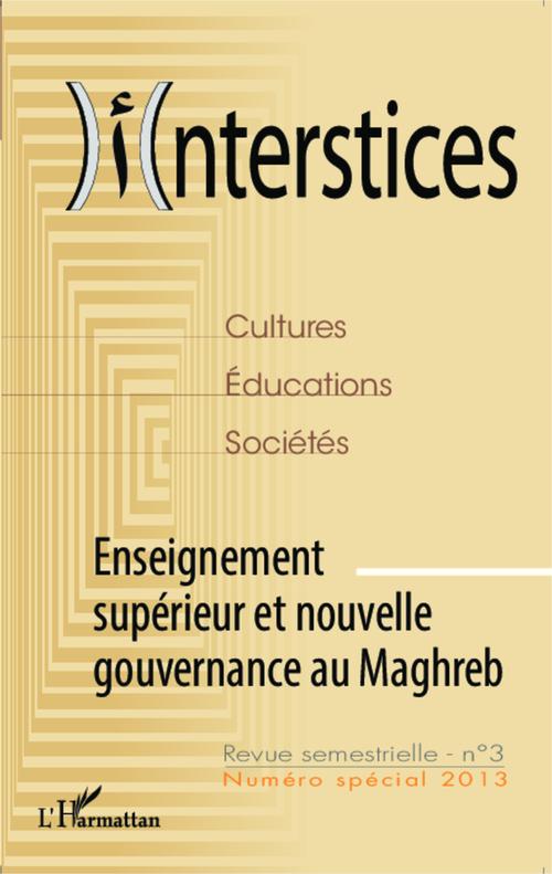 Mohammed Melyani Enseignement supérieur et nouvelle gouvernance au Maghreb