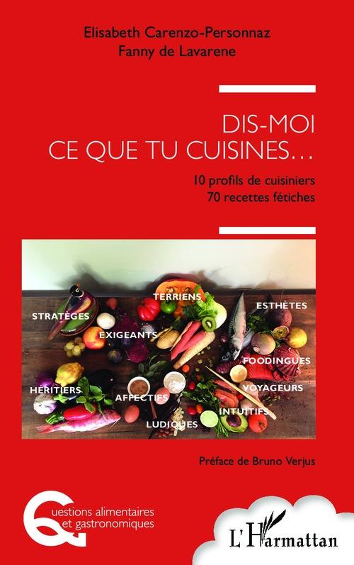 Elisabeth Carenzo-Personnaz Dis moi ce que tu cuisines...