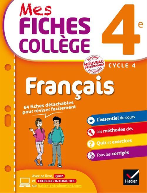 Hélène Ricard Mes fiches collège Français 4e