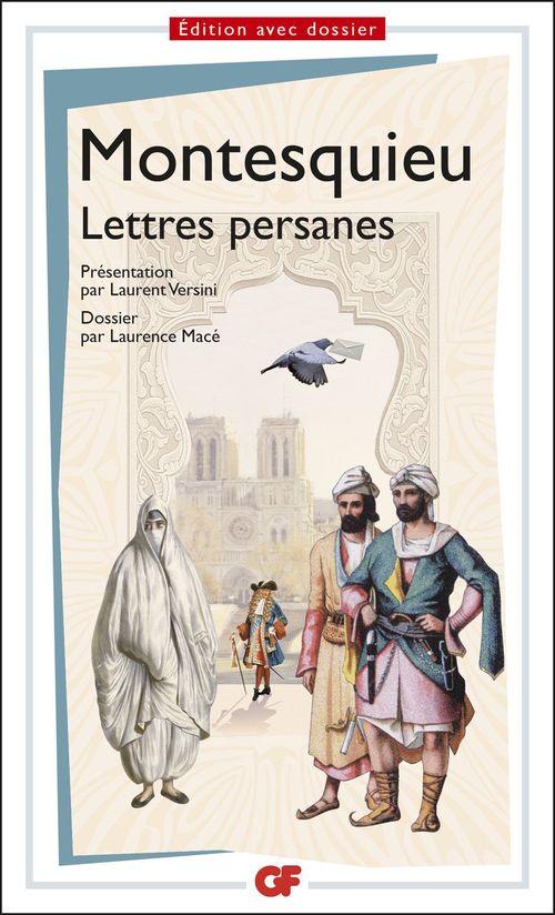 Montesquieu Lettres persanes - Prépas scientifiques 2016-2017