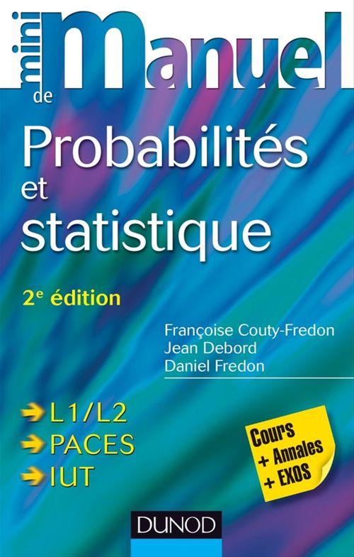 Daniel Fredon Mini Manuel de Probabilités et statistique
