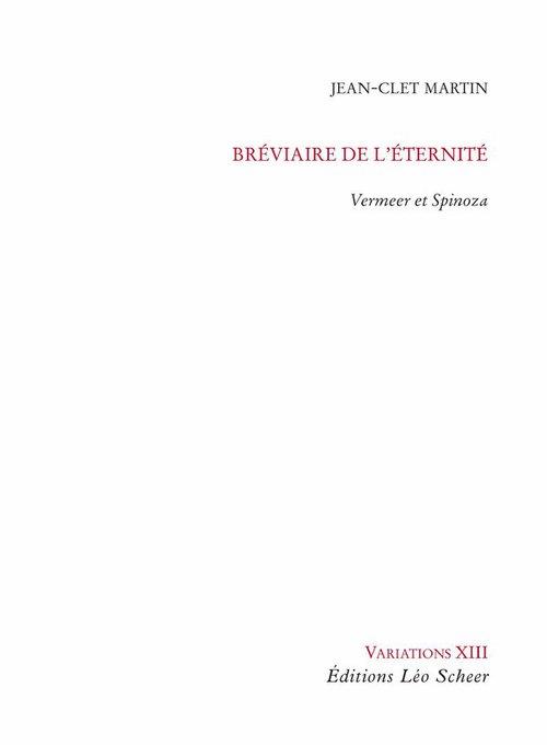 Jean-Clet Martin Bréviaire de l'éternité