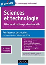 Sciences et technologie - Mise en situation professionnelle - Admission 2014