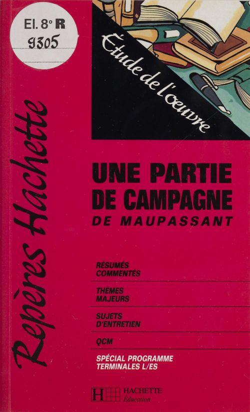 «Une partie de campagne» de Maupassant