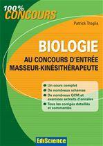 Biologie au concours d'entrée Masseur-Kinésithérapie