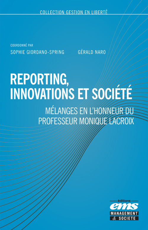 Gérald Naro Reporting, innovations et société