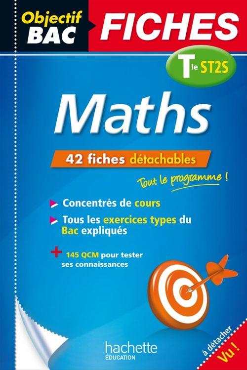 Alain Vidal Objectif Bac Fiches Maths Term St2S