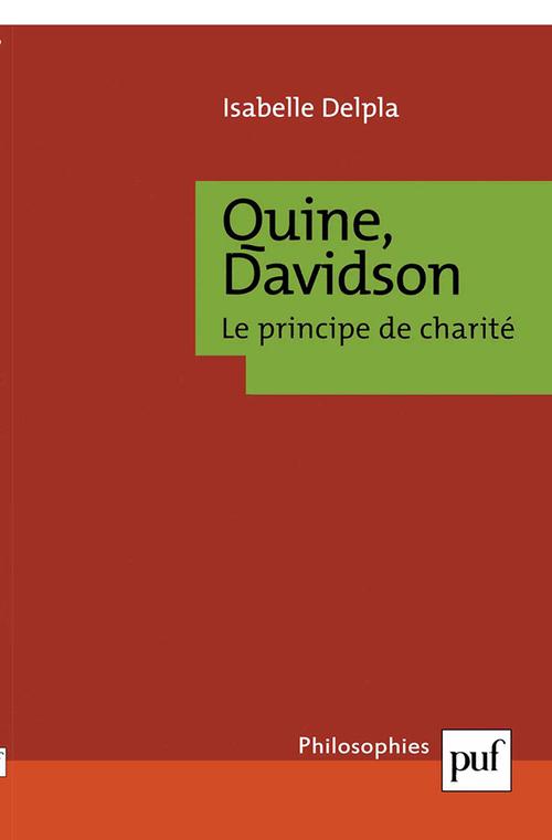 Quine, Davidson. Le principe de charité