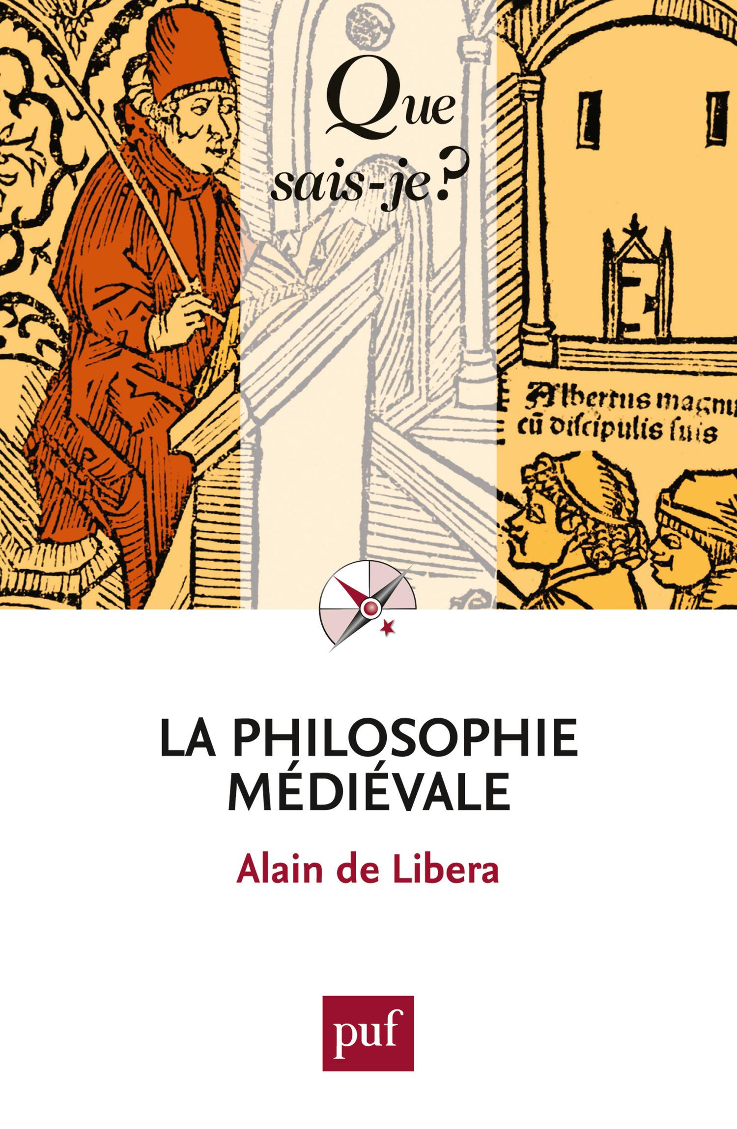 Alain de Libera La philosophie médiévale