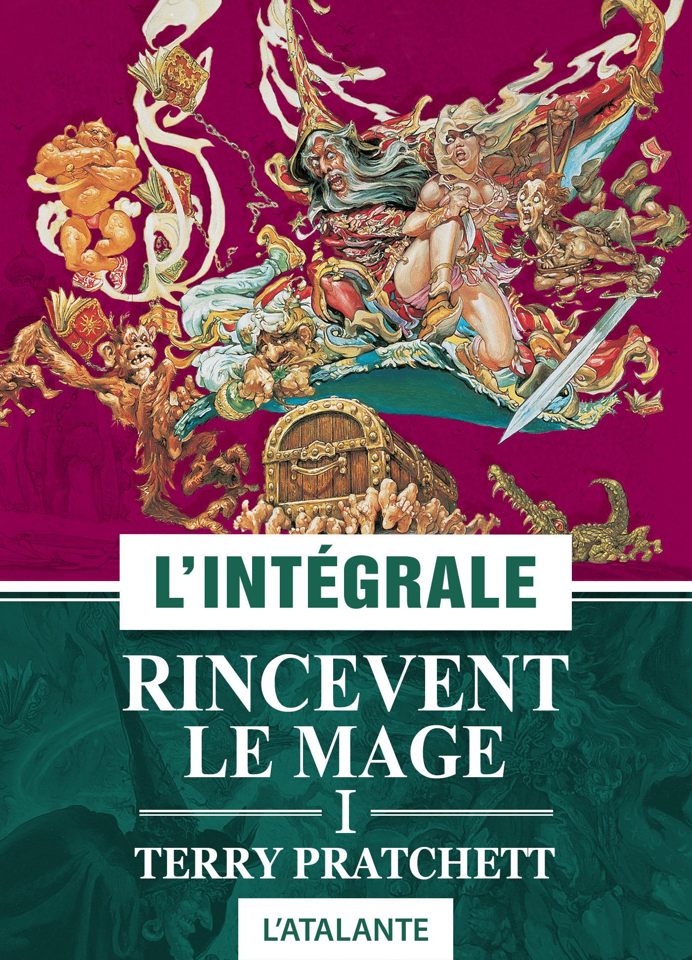 Terry Pratchett Rincevent, le mage - 1 - L'Intégrale