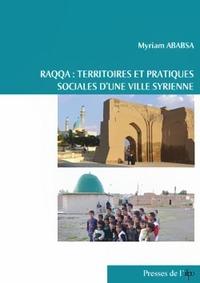 Raqqa : territoires et pratiques sociales d'une ville syrienne