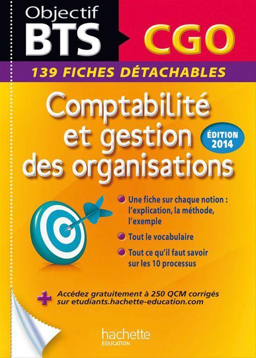 Patricia Charpentier Fiches détachables BTS Comptabilité et Gestion des Organisations
