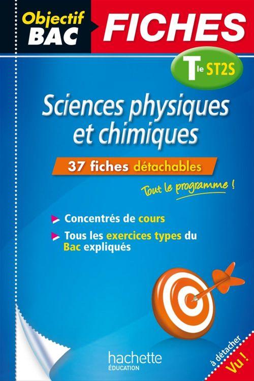 Jean-Pierre Durandeau Objectif Bac Fiches Sciences Physique Et Chimiques St2S