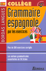 Bordas Langues o Grammaire espagnole par les exercices